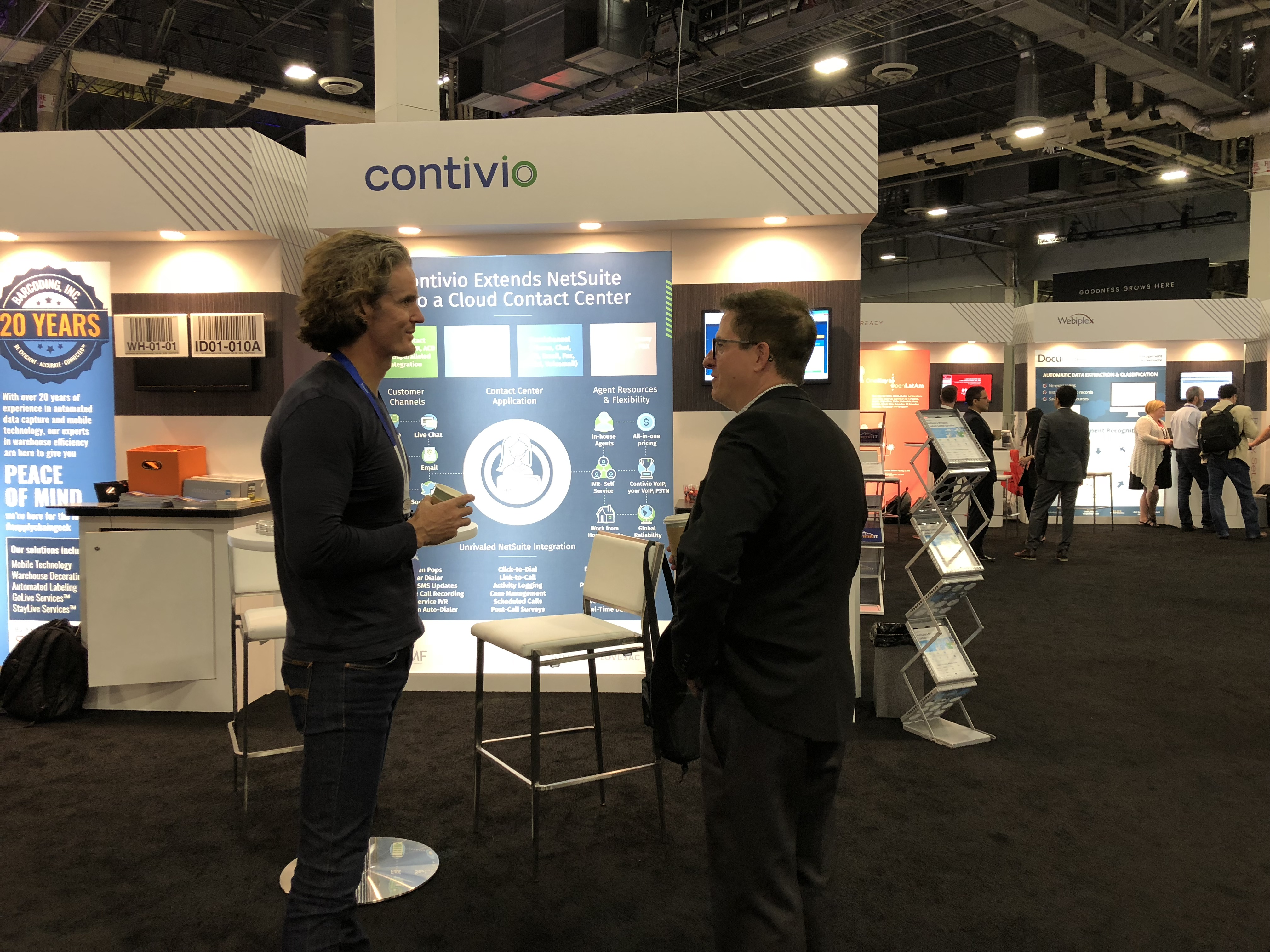 SuiteWorld 2018 booth