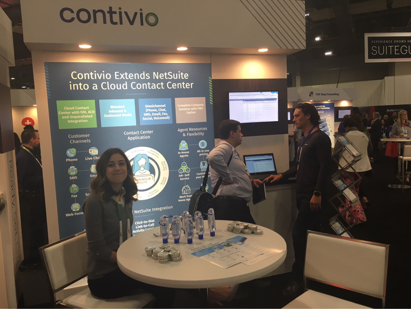 Suiteworld 2018 Contivio booth